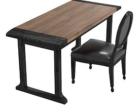 Liaigre academia chair and come table 3D