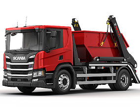 Scania P Multilift Futura 12 3D