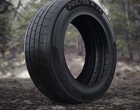 3D asset Pirelli Cinturato P1 Tyre 205 55 R 16