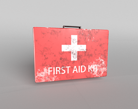 3D model First Aid Kit 002