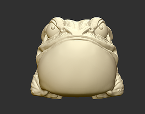 Angry Toad 3D print model
