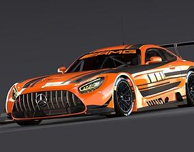 Mercedes AMG GT3 2020 3D