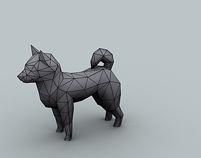Model for texturing dog 3D asset