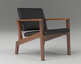 3D model Maxwell Lounge Chair