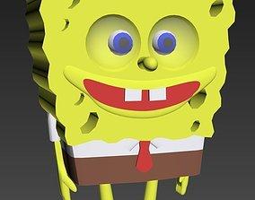 3D asset Sponge Bob Square Pants