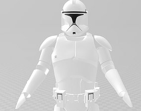 3D printable model Star Wars Clone Trooper phase 1 Full 1