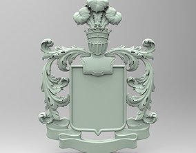 3Dmodel STL CNC Coat of arms
