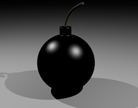 3D model Black Bomb