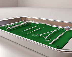 Surgical Tray Set 3D model