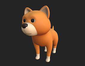 body Cartoon Dog 3D