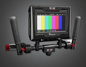 3D model HLW - Assist Monitor 01 - PBR Game Ready
