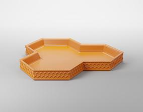 HEXAGONAL KEY TRAY 3D print model
