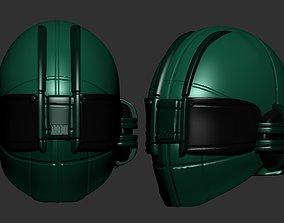 helmet high poly sculpt 3d printable ver 7 3D model