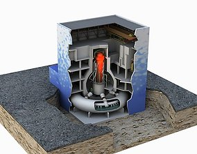 Fukushima Nuclear reactor 3D model