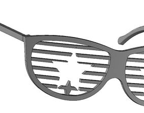 3D print model Star glasses