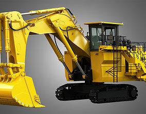 3D model 6030 FS - Hydraulic Mining Excavator