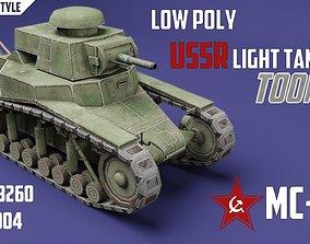 MC-1 USSR Toon Tank -Big- 3D model