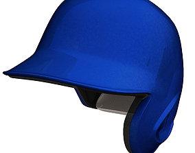 3D asset Baseball helmet
