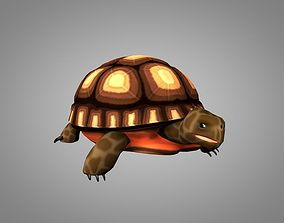 3D model animated Turtle