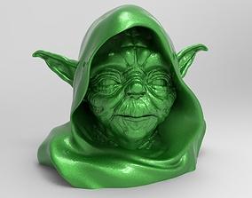 sculpture master yoda 3D printable model