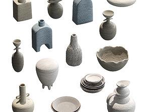 Pottery set v2 - 14 models jug