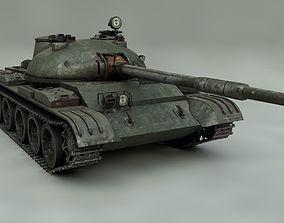 Tank T-54 3D model