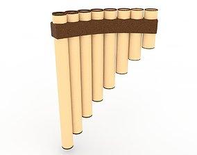 3D model Peruvian flute