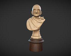 3D model Ivory Gandhi v1