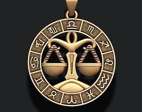 3D printable model zodiac Libra The Scales lite