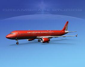 Airbus A321 Air Charter intl 2 3D model