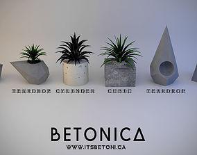 3D BETONICA Small flowerpots
