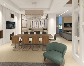 architectural living rooms 3D
