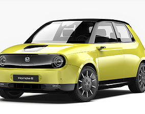 3D Honda e 2021