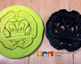 3D printable model Mason Logo cookie cutter