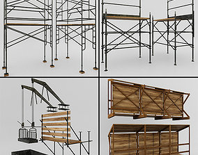 3D Scaffolding and structures