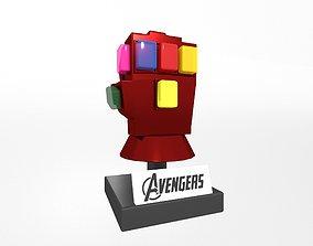 3D asset Lego Infinity Gauntlet v1 001