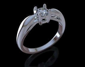 Engagement Ring 002 3D print model