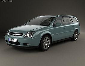 Opel Vectra caravan 2002 3D