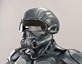 sci fi soldier 3D