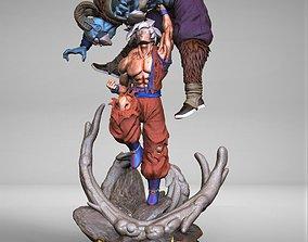 Goku UI VS Moro 3D print model