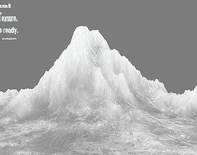 cold 3D model VR / AR ready iceberg