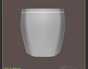 Din Djarin Mando Hip Armor 3D printable model