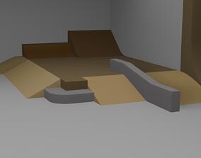 Skatepark Part 3D model