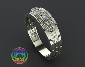 rings 3D printable model jewelry diamond ring