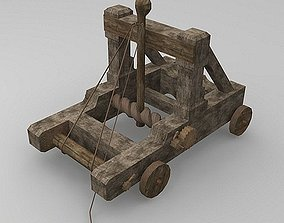 3D model Torsion Catapult