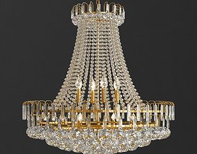 3D model Luxury Royal Empire Golden European Crystal