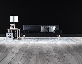 Sofa set - Interior Furniture 07 3D