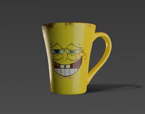 3D model Sponge Bob Cup