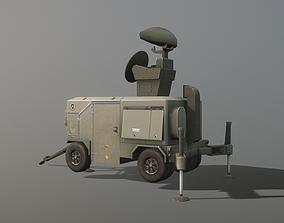 3D asset Skyguard Radar area defense system