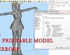 3D printable model Cheerleader Women Cheerleading Pom Poms